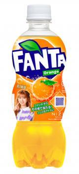 『ファンタ オレンジ』 NiziU限定デザインボトル(RIKU)