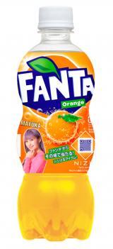 『ファンタ オレンジ』 NiziU限定デザインボトル(MAYUKA)