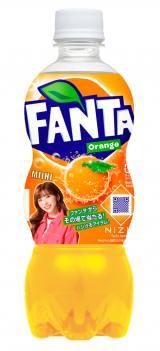 『ファンタ オレンジ』 NiziU限定デザインボトル(MIIHI)
