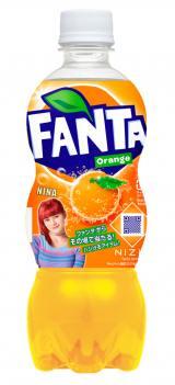 『ファンタ オレンジ』 NiziU限定デザインボトル(NINA)