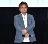 完全新作アニメーション『ARIA The CREPUSCOLO』の初日舞台あいさつに登壇した佐藤順一総監督 (C)ORICON NewS inc.