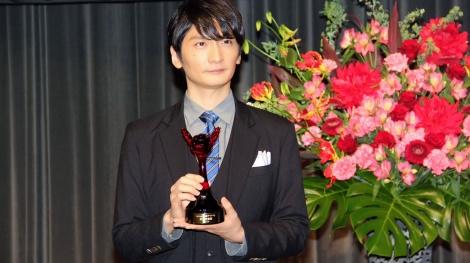 『第十五回声優アワード』助演男優賞の島崎信長 (C)ORICON NewS inc.