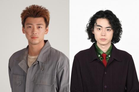 (左から)竹内涼真、菅田将暉