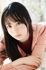 『ヤンマガWeb』に登場した乃木坂46の佐藤璃果(C)Takeo Dec./ヤンマガWeb