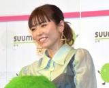 『SUUMO 住みたい街ランキング2021関東版』発表会にゲストとして参加した若槻千夏 (C)ORICON NewS inc.