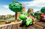 ユニバーサル・スタジオ・ジャパン『スーパー・ニンテンドー・ワールド』内「ヨッシー・アドベンチャー」(C)Nintendo