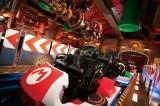 ユニバーサル・スタジオ・ジャパン『スーパー・ニンテンドー・ワールド』アトラクション「マリオカート クッパの挑戦状」(C)Nintendo