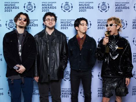 「BEST ROCK ARTIST」受賞のKing Gnu
