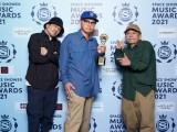「BEST RESPECT ARTIST」受賞のスチャダラパー