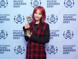 「BEST MOVIE SONG」受賞のLiSA