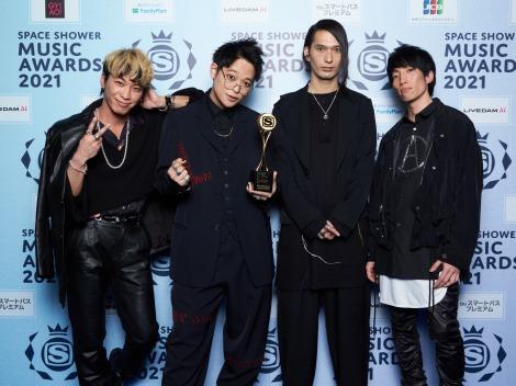 「BEST CONCEPTUAL LIVE」受賞のTHE ORAL CIGARETTES