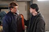『君と世界が終わる日に』第9話に出演する竹内涼真、笠松将 (C)日本テレビ