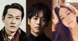 金曜ナイトドラマ『あのときキスしておけば』に出演する(左から)井浦新、松坂桃李、麻生久美子