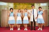 (左から)浦嶋りんこ、宮澤エマ、高畑充希、宮野真守、LiLiCo 写真提供/東宝演劇部