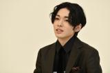 図夢歌舞伎『弥次喜多』オンライン取材会に登壇した市川染五郎(C)松竹