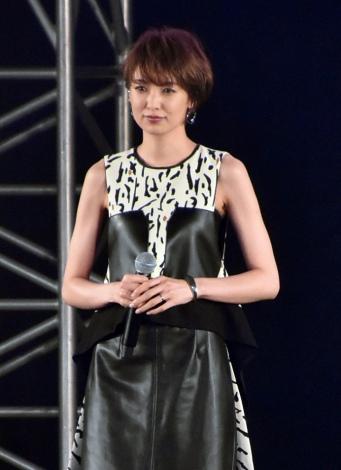 『第31回 マイナビ 東京ガールズコレクション 2020 AUTUMN/WINTER』に出演した南明奈 (C)ORICON NewS inc.