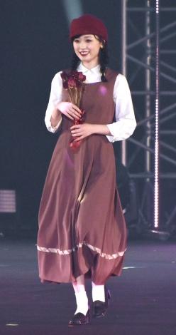 『第31回 マイナビ 東京ガールズコレクション 2020 AUTUMN/WINTER』に出演した福原遥 (C)ORICON NewS inc.