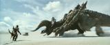 『映画 モンスターハンター』(3月26日公開)シリーズを代表するモンスターの1体であるディアブロス亜種の登場シーン(C) Constantin Film Verleih GmbH