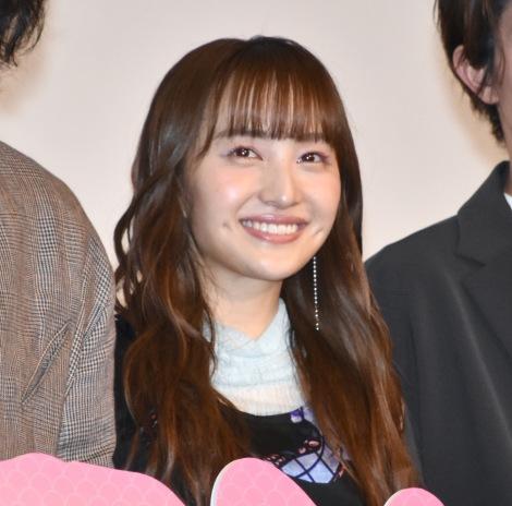 映画『すくってごらん』公開記念舞台あいさつに出席した百田夏菜子 (C)ORICON NewS inc.