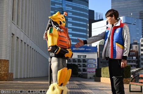 『機界戦隊ゼンカイジャー』第2話場面写真(C)2021 テレビ朝日・東映AG・東映