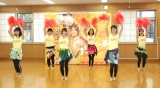 舞台『フラガール− dance for smile -』のけいこ取材会の模様 (C)ORICON NewS inc.