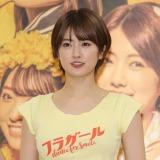 舞台『フラガール− dance for smile -』のけいこ取材会に登場した乃木坂46・樋口日奈