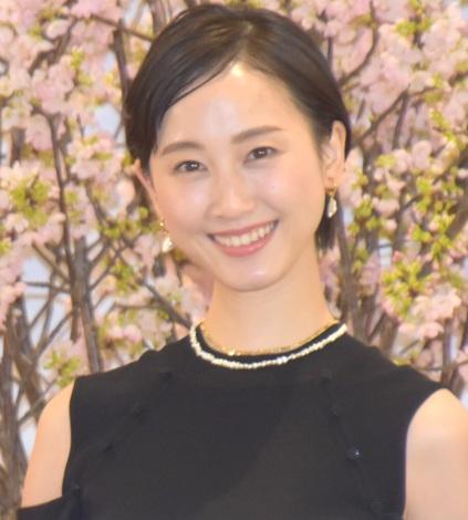 映画『幕が下りたら会いましょう』の製作発表会に参加した松井玲奈 (C)ORICON NewS inc.