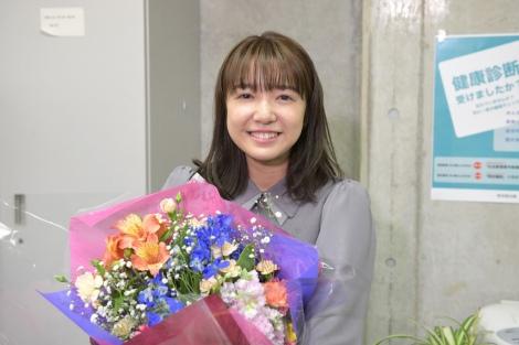 火曜ドラマ『オー!マイ・ボス!恋は別冊で』クランクアップを迎えた上白石萌音 (C)TBS