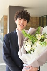 火曜ドラマ『オー!マイ・ボス!恋は別冊で』クランクアップを迎えたKis-My-Ft2・玉森裕太(C)TBS