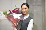 火曜ドラマ『オー!マイ・ボス!恋は別冊で』クランクアップを迎えた菜々緒 (C)TBS