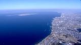 大阪湾(空撮)=『巨大魚&幻の魚を追え!〜大阪湾の魚大調査』関西地域の総合テレビで3月17日放送 (C)NHK
