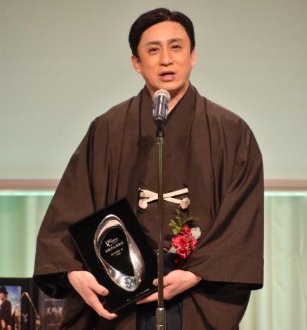 『日本クリエイション大賞-2020』の「伝統文化革新賞」を受賞した松本幸四郎 (C)ORICON NewS inc.