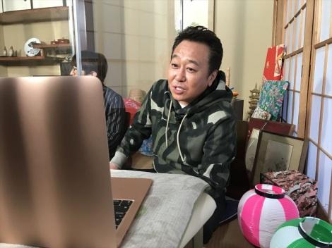 リモート取材中=『視聴者様に飼われたい!第3弾』テレビ東京系で3月17日放送(C)テレビ東京