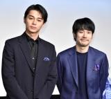 映画『BLUE/ブルー』の完成報告会に出席した(左から)東出昌大、松山ケンイチ (C)ORICON NewS inc.
