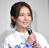 映画『BLUE/ブルー』の完成報告会に出席した木村文乃 (C)ORICON NewS inc.
