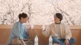 『三ツ矢サイダー』新テレビCMに出演する相葉雅紀、櫻井翔