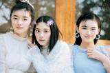 『ViVi』5?号に登場する櫻坂46(左から)藤吉夏鈴、森田ひかる、山崎天