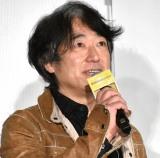 映画『太陽は動かない』公開御礼舞台あいさつに登壇した羽住英一郎監督