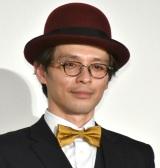 映画『太陽は動かない』公開御礼舞台あいさつに登壇した赤ペン瀧川