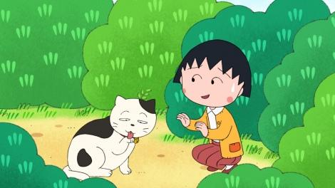 28日放送の『ちびまる子ちゃん』の『ある春の一日』(C)さくらプロダクション/日本アニメーション