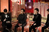『第44回日本アカデミー賞』主演男優賞を受賞した(左から)小栗旬、草なぎ剛(C)日本アカデミー賞協会