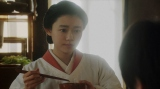 松島寛治(前田旺志�カ)にあることを言う千代(杉咲花)=連続テレビ小説『おちょやん』第16週・第77回より (C)NHK