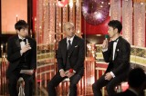 『第44回日本アカデミー賞』助演男優賞を受賞した(左から)宇野祥平、妻夫木聡(C)日本アカデミー賞協会
