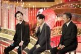 『第44回日本アカデミー賞』助演男優賞を受賞した(左から)成田凌、星野源、渡辺謙(C)日本アカデミー賞協会