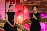 『第44回日本アカデミー賞』助演女優賞を受賞した(左から)江口のりこ、黒木華(C)日本アカデミー賞協会