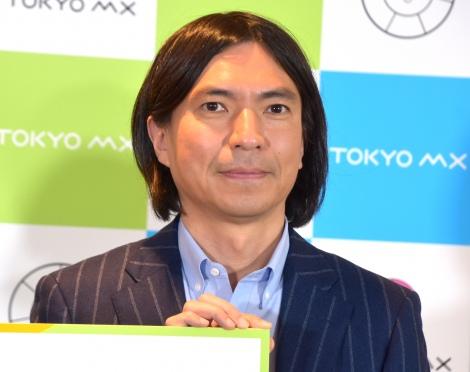 垣花正をイジり倒したふかわりょう= TOKYO MX『2021年4月改編』記者発表会 (C)ORICON NewS inc.