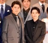 スペクタクル時代劇『魔界転生』製作発表会見に出席した(左から)上川隆也、小池徹平 (C)ORICON NewS inc.