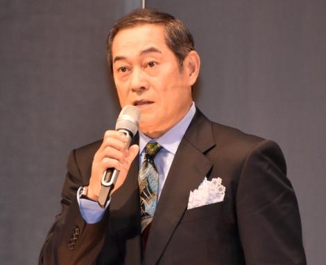スペクタクル時代劇『魔界転生』製作発表会見に出席した松平健 (C)ORICON NewS inc.