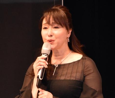 スペクタクル時代劇『魔界転生』製作発表会見に出席した浅野ゆう子 (C)ORICON NewS inc.