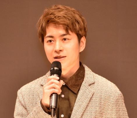 スペクタクル時代劇『魔界転生』製作発表会見に出席した村井良大 (C)ORICON NewS inc.